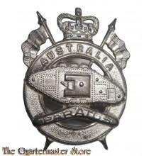 Cap badge 1st Armoured Regiment (Australia) post 1949