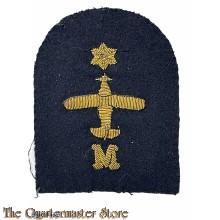 Sleeve trade badge  Air Engineer Mechanic (M) Royal Navy