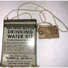 US Navy Tin Drinking water kit  (Bauer contract)