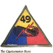 Mouwembleem 49e Armored Divison (Sleevebadge 49th Armored Division)