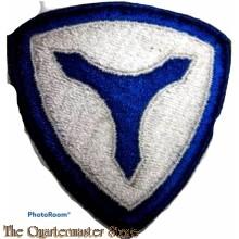 Mouwembleem 3rd US Service Command (Sleeve badge 3rd US Service Command)