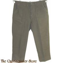 Trousers M45 serge wool