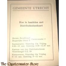 Bijlage Hoe te handelen met Distributiestamkaart , Gemeente Utrecht