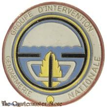 France - Pin Groupe D'Intervention Gendarmerie International