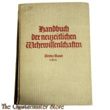 Book - Handbuch der Neuzeitlichen Wehrwissenschaften Berlin 1939, die Luftwaffe 2er Teil
