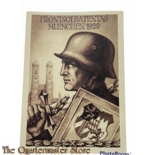 Postkarte Frontsoldatentag 1929