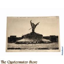 Postcard 1914-18 Mort Homme, monument eleve a la memoire des morts de la 69e D.I.