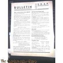 Bulletin van de Gemeentelijke Federatie Veendam der S.D.A.P. 1934-35