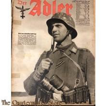 Zeitschrift Der Adler heft 15 28 juli 1942 (Magazine Der Adler no 15, 28 july 1942)