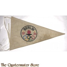 Pennant Third Reich , Berlin Olympic 1936 Games