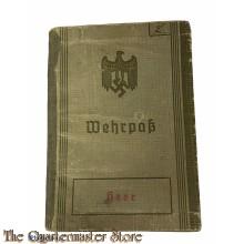 Wehrpass 1937 Lublin  V/02/23a/5