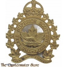 Cap badge  Lake Superior Scottish Regiment , 4th Canadian (Armoured) Division