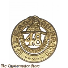 Cap badge 48th Highlanders of Canada