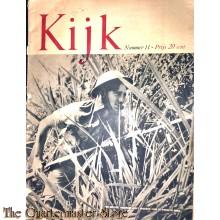 2 Maandelijks blad Kijk No 11, een britsche verkenner sluipt omzichtig door de rimboe van Birma