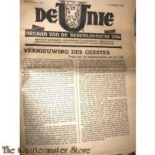 Krant de Unie no 2,  31 augustus 1940