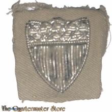 WW2 Coast Guard bullion CPO arm shield