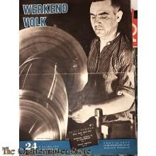 NSB maandblad Werkend Volk 2 jrg nr 24 , 19 november 1943