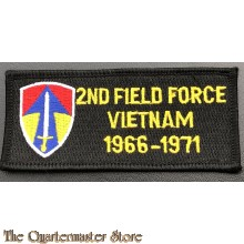 Patch 2nd field force Vietnam 1966-71