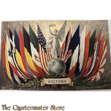 "Postcard   ""Tuck's"" WW1 PATRIOTIC – ""VICTORY"""