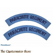 Shoulder title set Parachute regiment