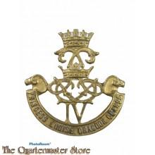 Cap badge The 4th Princess Louise Dragoon Guards WW2
