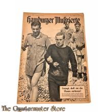 Zeitung Hamburger Illustrierte 24e jrg no 35, sonnabend 29 August 1942 ( Dieppe)