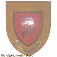 Wandbord British Army training unit Suffield