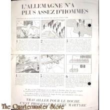 Flugblatt / Leaflet  EH(B).234, L'Allemagne n'a plus asses d'hommes (Germany has insufficient men)