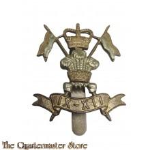 Cap badge 9th/12th Lancers Regiment