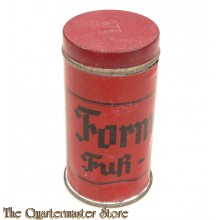 Wehrmacht 'Formalin-Fuss-Puder' Container (Foot Powder).