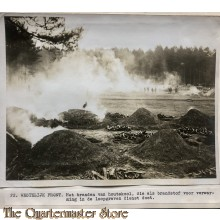 Press photo , WW1 Western front, burning coal for the trenches