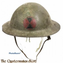 M1917 helmet used by US 7th Infantry Division