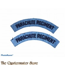 Shoulder titles PARACHUTE REGIMENT (modern)