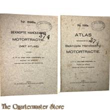 Voorschriften set  598a  Beknopte handleiding Motortractie incl Atlas