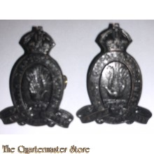 Collar badges 22nd Inf Bat The South Gippsland Regiment 1930-1942