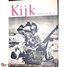 2 Maandelijks blad Kijk no 6 deze dorstige zeesoldaat beladen met handgranaten, rust even uit na de landing op een zuidze-eiland