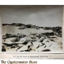 Press photo , WW1 front of Mesopotamia , Frontline
