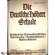 Die Deutsche Höhere Schule , 4 jrgang 5 jan 1937 Heft 1