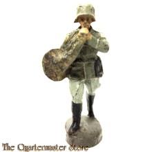 "Wehrmacht Waldhoorn muzikant ""Elastolin Germany"" (Elastolin German musician WW2)"