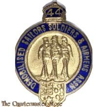 Badge Demobilised Australian Servicemen and Women + clasp 1944