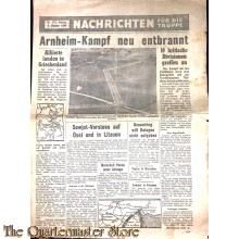 Flugblatt / Leaflet Nachrichten für die Truppe  nr 173 (News for the Troops,Nr 173 ) 6 oktober 1944
