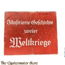 Flugblatt / Booklet Illustrierte Geschichte zweiter Weltkriege