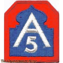 Mouwembleem 5th Army (Sleeve patch 5th Army)