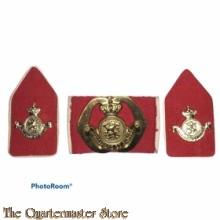 Baret embleem en kraag Opleidingscentrum Officieren van speciale diensten 1974-96