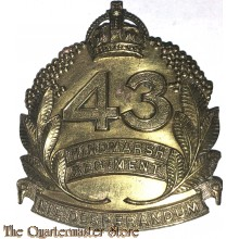 Cap badge 43rd Inf Bat (The Hindmarsh Regiment)