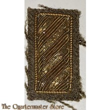 Rank badge 2nd Lieutenant bullion
