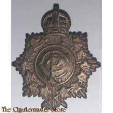 Collar badge Royal Canadian Army Postal Corps WW2 R.C.P.C