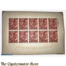 Blok van 10 legioenzegels 7 1/2 cent (toeslag 2 1/2 cent)