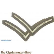 British rank chevrons Lance Corporal (canvas)