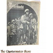 Magazine Die Wehrmacht  8e Jrg no 17 , 16 aug 1944